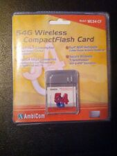 AmbiCom WL54-CF 802.54g Wireless CompactFlash Card