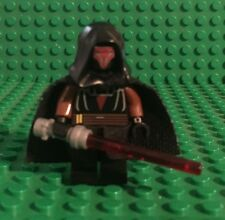 Custom Lego Star Wars Darth Raven with Cape & Red Light Saber