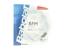 4 x Babolat RPM Blast Tennis String - 1.25mm / 17G - 12M - Black - Free UK P&P