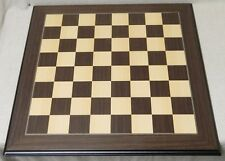 """26"""" Mark of Westminster Macassar Presidential Chess Board, 2 1/2"""" Squares"""