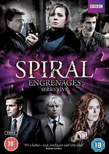 Spiral Series 5 Complete Season Five Fifth Region 4 New DVD