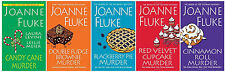 NEW Joanne Fluke HANNAH SWENSEN Series w/ Recipes Books 16-20! Murder She Baked