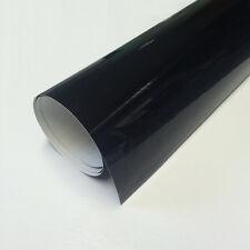 1m Schwarze Klebefolie - glänzend - Breite 100cm - Plottfolie Oracal