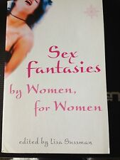 """Sex Fantasies By Women For Women"" BOOK NEW 50% OFF"
