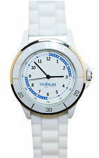 Nurse-Medical White Silicone Quadrant Watch