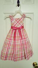 Girls Size 2T Bonnie Jean Plaid Dress