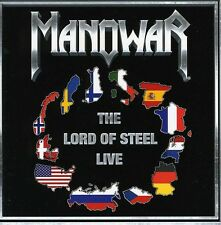 Lord Of Steel-Live - Manowar (2013, CD NIEUW)