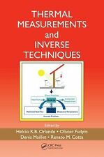THERMAL MEASUREMENTS AND INVERSE TECHNIQUES - NEW HARDCOVER BOOK