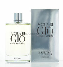 Acqua Di Gio Essenza by Giorgio Armani for Men Eau De Parfum 6.08 OZ 180ML Spray