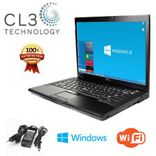 Dell Latitude Laptop Core 2 Duo WiFi DVD/CDRW Windows 10 Pro Notebook + 4GB