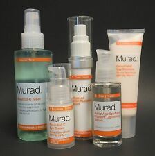 MURAD ACTIVE RADIANCE SERUM, RAPID AGE SPOT, C TONER, C EYE CRM, C DAY MOISTURE