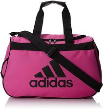 Sports Training Gym Travel Luggage Duffel Duffle Tote Shoulder Bag Women's Pink