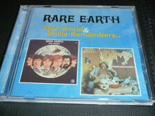rare earth - one world / willie remembers   ( 2 on 1  )    CD