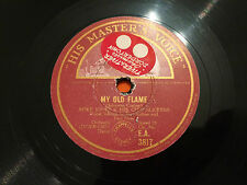 """SPIKE JONES & His City Slickers """"My Old Flame""""/""""I Kiss Your Hand Madame 78rpm EX"""
