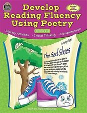 Develop Reading Fluency Using Poetry by Teacher Created Resources Staff