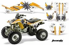 AMR Racing Honda TRX 400 EX Graphic Kit Wrap Quad Decal ATV 1999-2007 TOXIC YLW