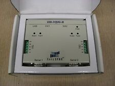 New EasySync USB-2COMi-M USB to 2-Port RS422 RS485 Industrial I/O Serial Adapter
