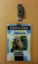 Jurassic Park ID Badge-Ingen Robert Muldoon Hat costume prop cosplay