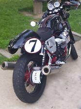 Moto Guzzi V7 Fender Eliminator side mount license plate kit w/ lights & signals
