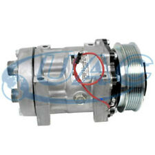 NEW SANDEN STYLE SD709 AC COMPRESSOR AND CLUTCH U7712