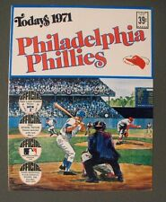 1971 Phillies Dell Baseball Photo Stamps Team Booklet Set~Bunning-McCarver-Ryan