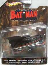 HOT WHEELS: 2012 BATMAN VEHICLES: 1940'S BATMOBILE  1:50