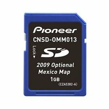 Pioneer CNSD-0MM013 Navigation GPS SD Map Update Mexico Map New CNSD0MM013