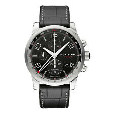 NEW Montblanc TimeWalker ChronoVoyager UTC Automatic Men's Watch 107336