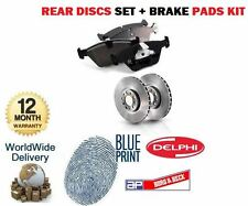 FOR TOYOTA LANDCRUISER AMAZON 4.2 4.7 1998-2007 REAR BRAKE DISCS SET + PADS KIT