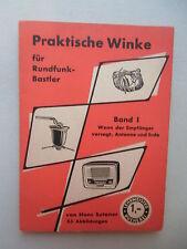 Lehrmeister Bücherei 2013 Praktische Winke für Rundfunk-Bastler 1950