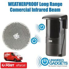 Long Range Entry Beam Waterproof Door Driveway Alert System Commercial Grade Dua