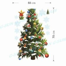 New Removable Christmas Tree Wall Sticker Vinyl School Home Wall Decor Poster I
