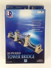 3D Tower Bridge Puzzle 120 Pieces Daron Decorative Collectible New