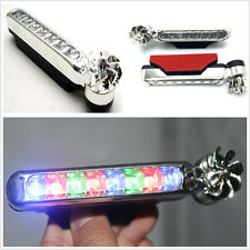 2 X LED Wind powered Color Day Running Light Car Waterproof Indicator Reflector