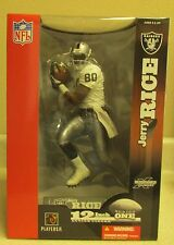 MCFARLANE NFL 12 INCH JERRY RICE - OAKLAND RAIDERS- EXCLUSIVE NIB