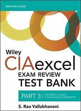 Wiley CIA Exam Review: Wiley CIAexcel Exam Review 2016 Test Bank : Part 3,...