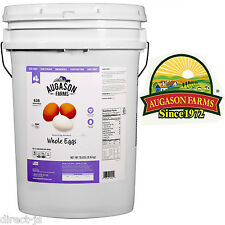 Augason Farms Emergency Disaster Survival Food Whole DRIED EGGS 18 lbs Pail