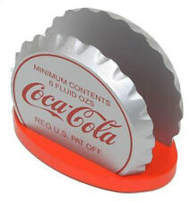 Coca Cola: Bottle Crown Wooden Napkin Holder - New & Official In Box