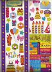 CELEBRATE Birthday PARTY Fun CELEBRATION Stickers Borders Scrapbooking 2 sheets