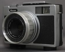 RICOH RICOHMATIC 126 VINTAGE FILM CAMERA RIKENON F2.8 35mm JAPAN Clean Works!