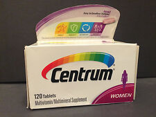 Centrum Multivitamin/Multimineral Supplement (WOMEN)  120 Tablets EXP:11/16