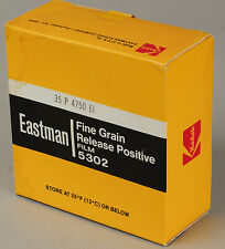 EXPIRED Film in 35MM format 100ft Roll EASTMAN B&W Positive FINE GRAIN 5302