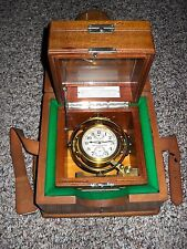 "Hamilton Chronometer Watch, Model #22. 21J. Double Boxed, ""Running Strong"" L@@K"