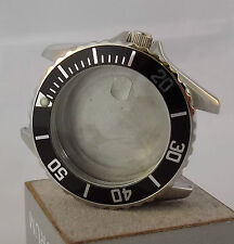 316L S.STEEL WATCH CASE ETA 2824-2 2836 AUTOMATIC MOVEMENT DIVER 10ATM - NEW