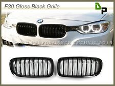 Sport Gloss Black BMW Front Kidney Grille F30/F31 328i 335i Sedan/Wagon 12-15