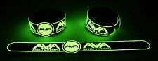 ANGELS & AIRWAVES  Glow in the Dark Rubber Bracelet Wristband The Wolfpack GG252