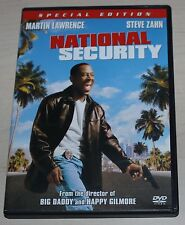 NATIONAL SECURITY dvd Martin Lawrence Steve Zahn SPECIAL EDITION