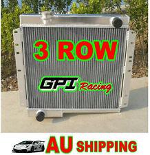 3 ROW Aluminum Radiator FOR Toyota Land Cruiser BJ40 DIESEL BJ42 MT LandCruiser