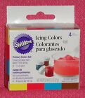Primary Color,Edible Gel Food Coloring,Icing Colors,Wilton,4, .5 Jars,601-5127