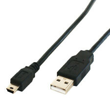 1,8 m Usb 2.0 Macho A 5 Pin Mini b Cable de plomo-Cámara Digital, Ps3 Controller